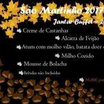Mesa D'Oito Buffet de São Martinho 2017