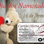 Dia dos Namorados Cartão Oferta Workshop Fotografia