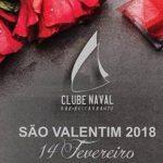 Dia de Namorados 2018 no Restaurante do Clube Naval