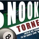 Torneio de Snooker no Clube Asas do Atlântico