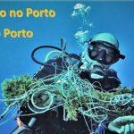Acção de Limpeza do Fundo do Porto de Vila do Porto