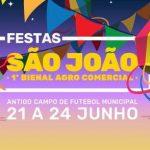 Festas de São João e 1ª Bienal Agro Comercial em Vila do Porto
